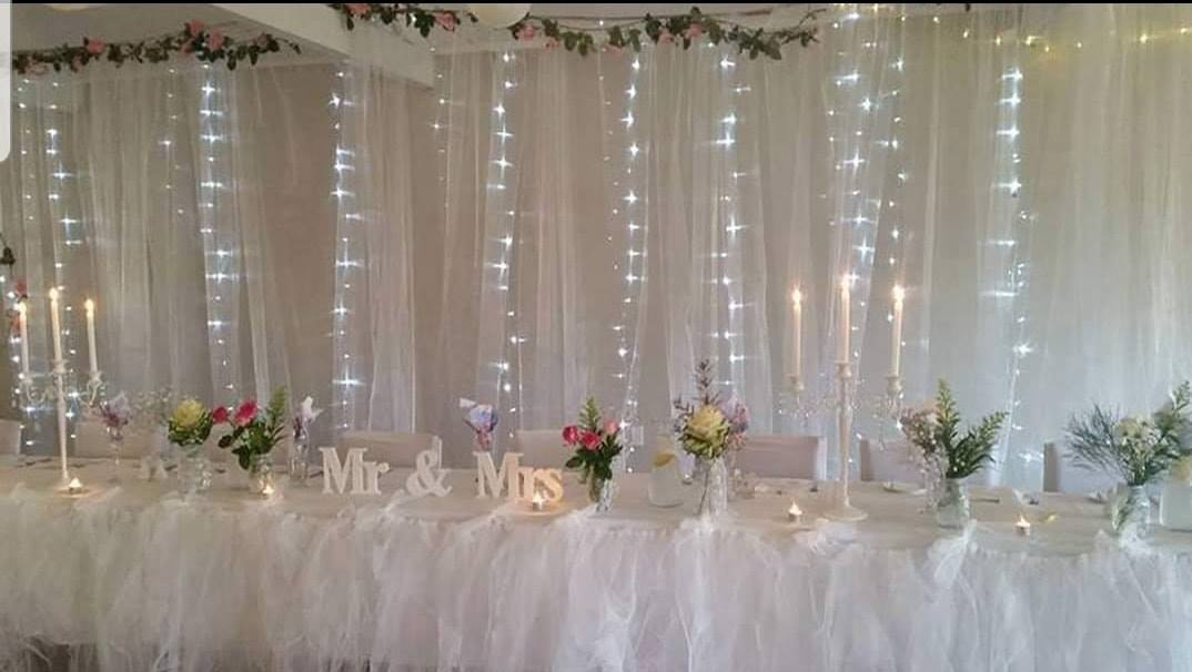 Draping Backdrop